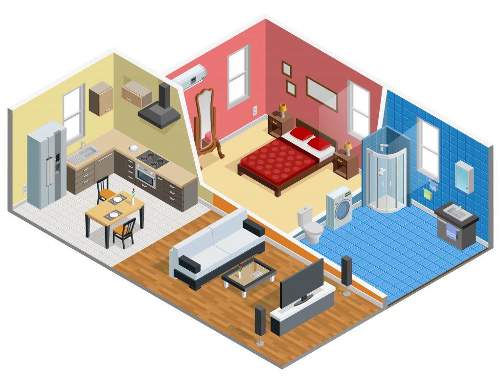Apartement Illustration