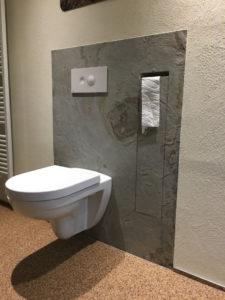 Naturschiefer Toilette