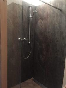 Naturschiefer Dusche