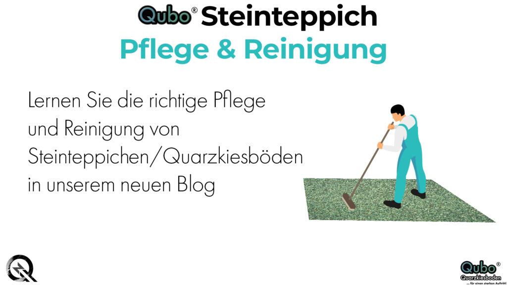 Pflege und Reinigung von Steinteppichen