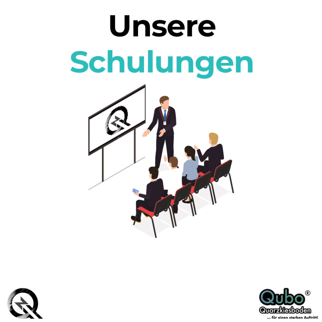 Schulungen Quarzkiesboden Zimmermann