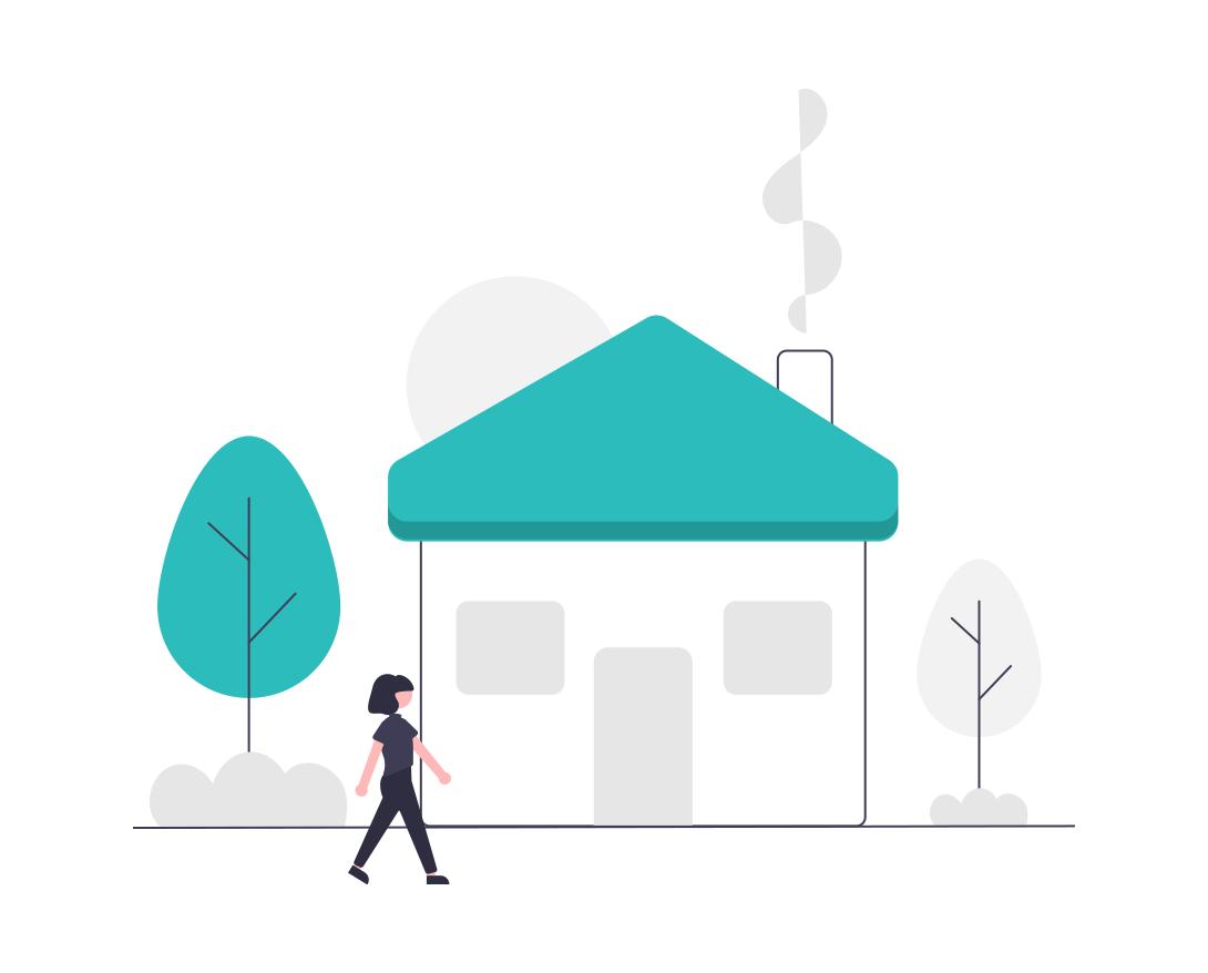 Haus Illustration