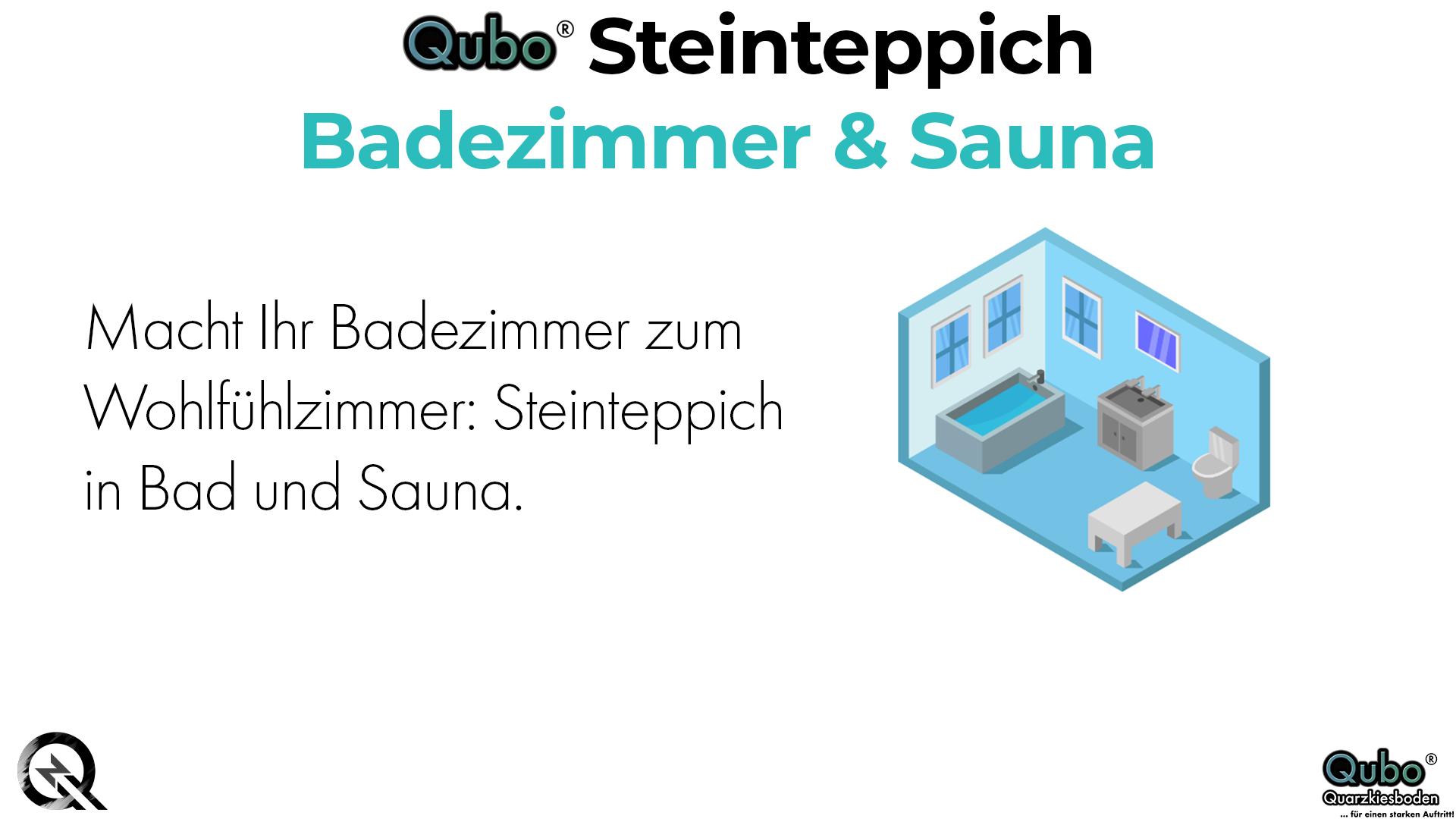 Badezimmer & Sauna Steinteppich Blog