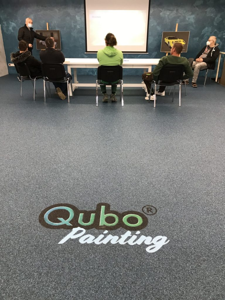 Qubo Painting Schulung Tag 1