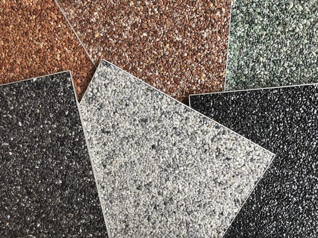 Marmor Steinteppich Muster