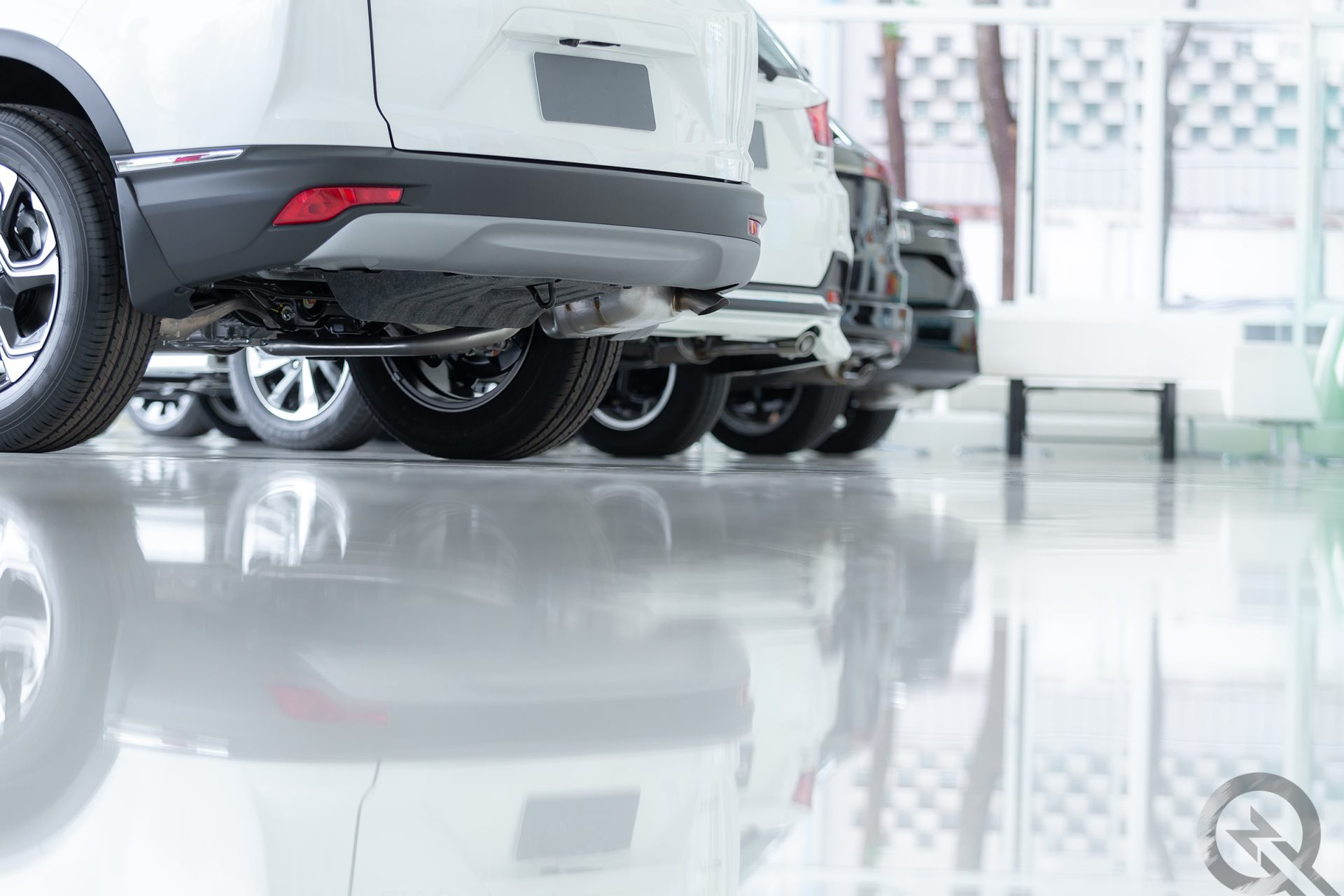 Epoxidharz Garage