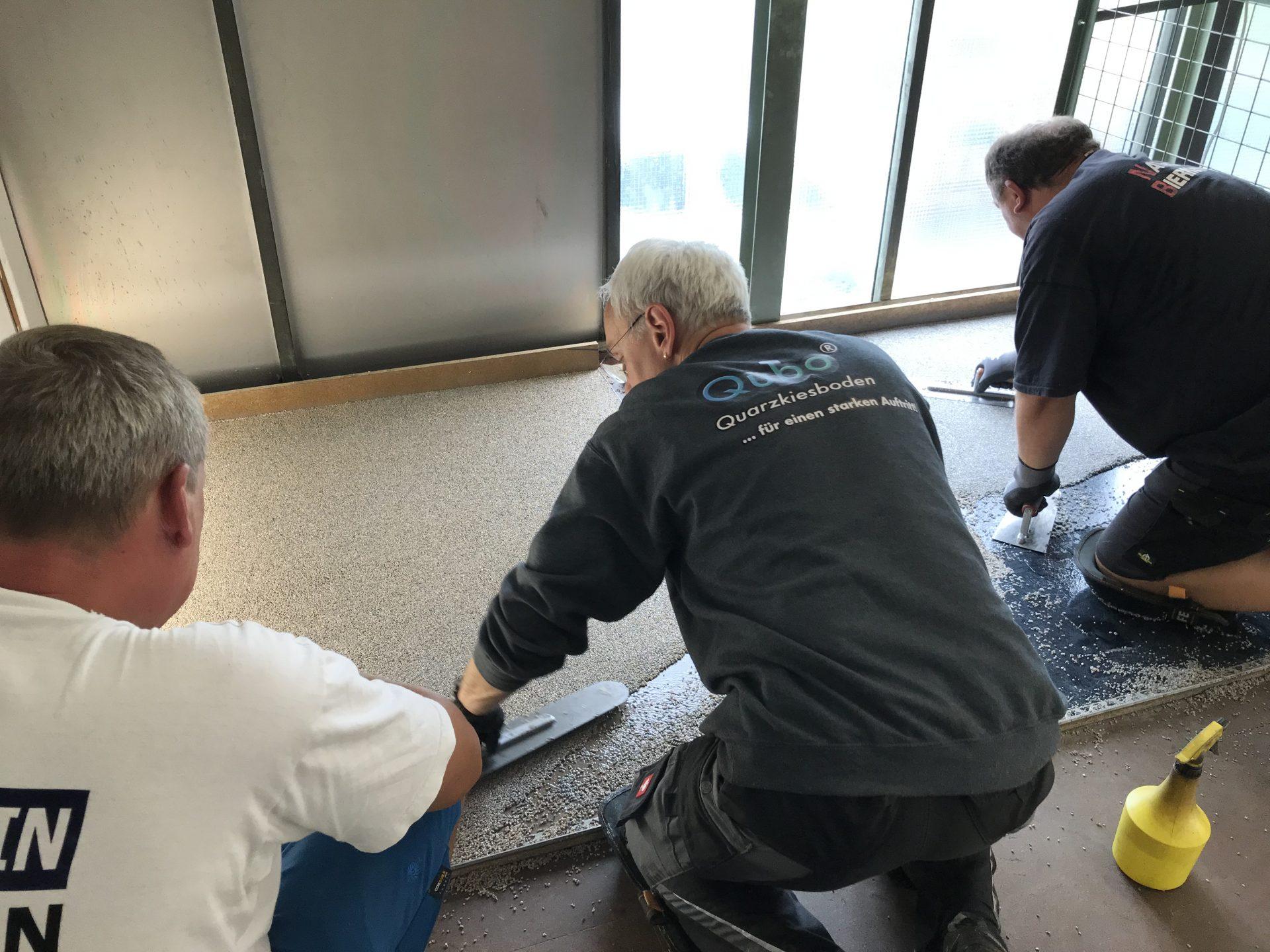 Steinteppich Schulungen Praxis