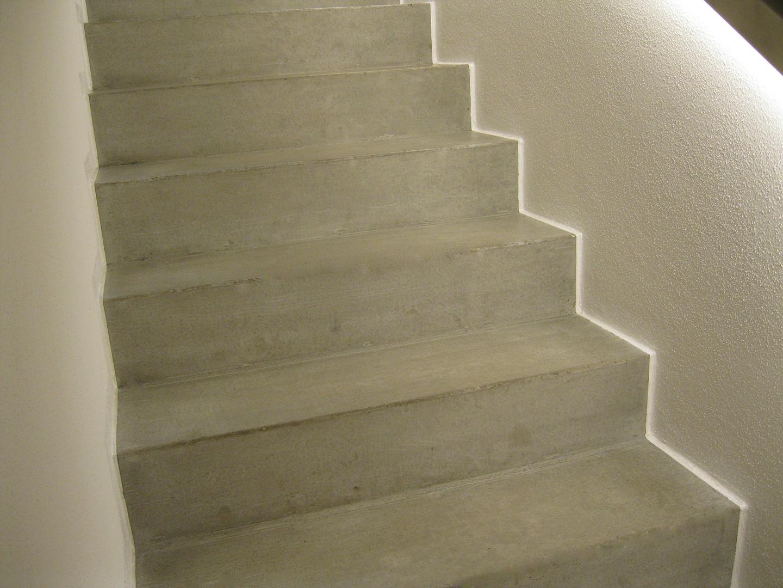 Mikrozement Treppe