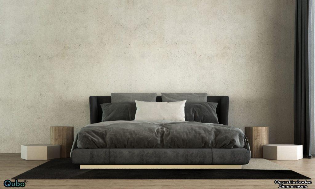 Mikrozement Schlafzimmer