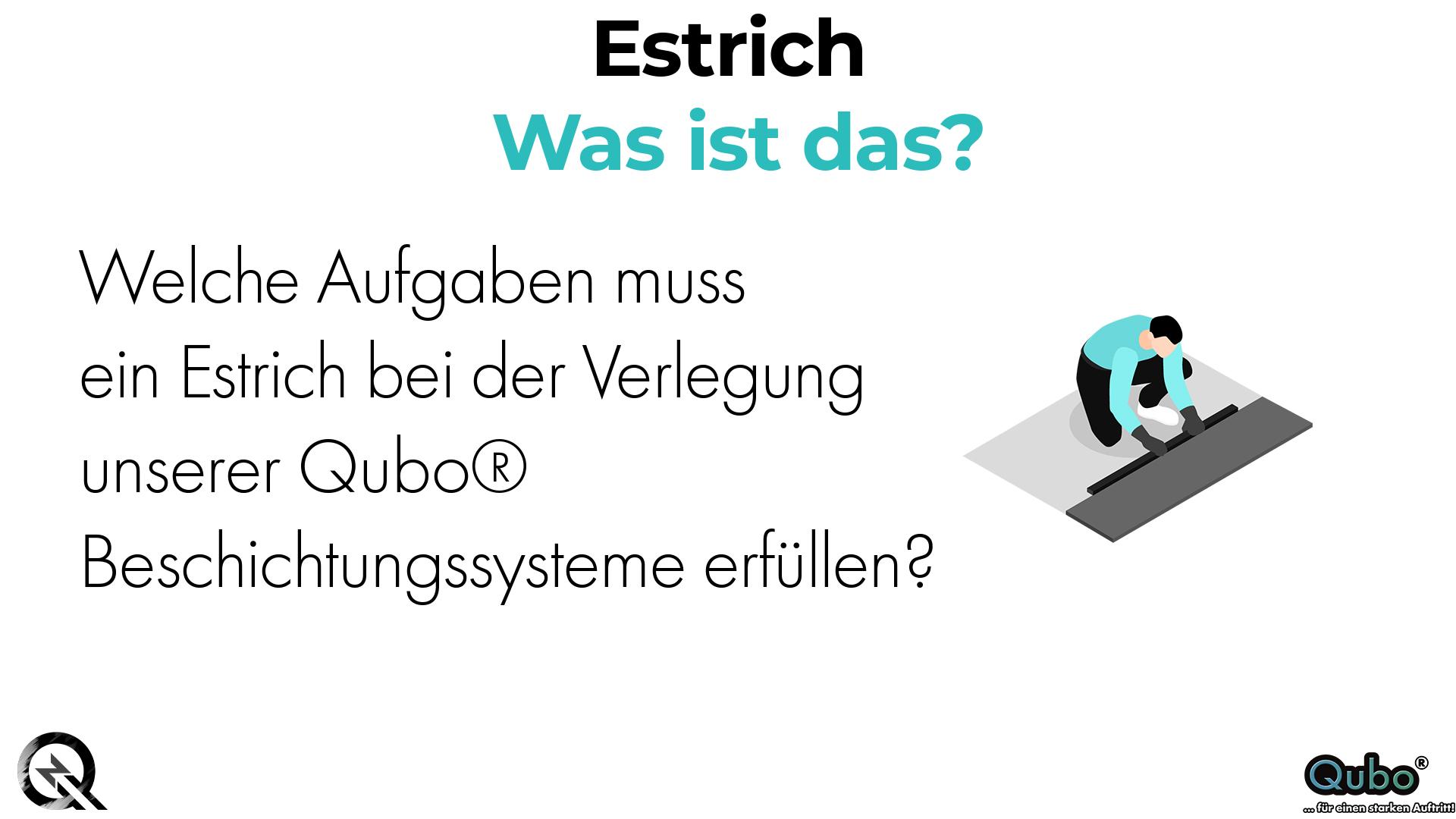 Was ist Estrich