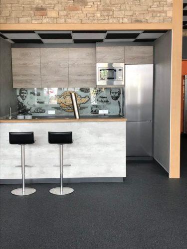 Quarzkiesboden Zimmermann Indoor Küche