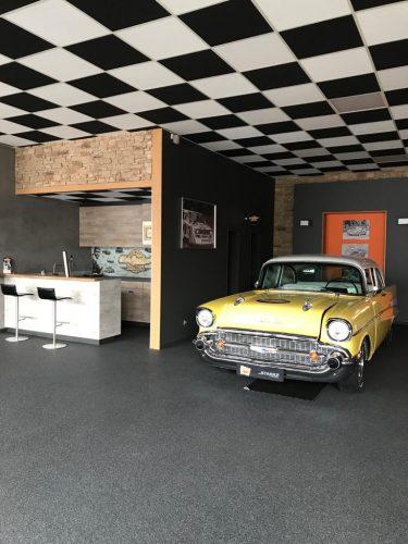 Quarzkiesboden Zimmermann Ausstellung