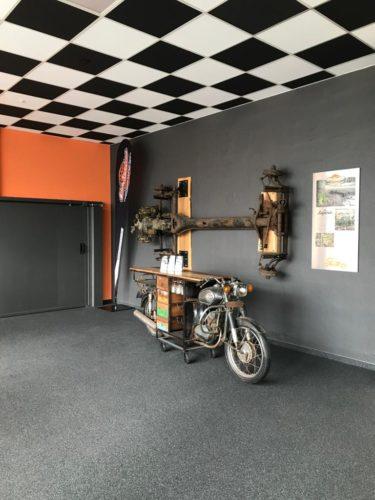 Quarzkiesboden Zimmermann Ausstellung 2